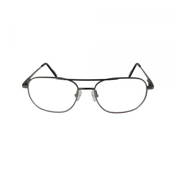 Mason Gunmetal Glasses - Front View