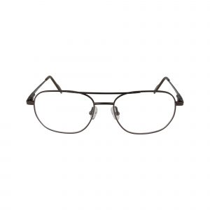 Mason Brown Glasses - Front View