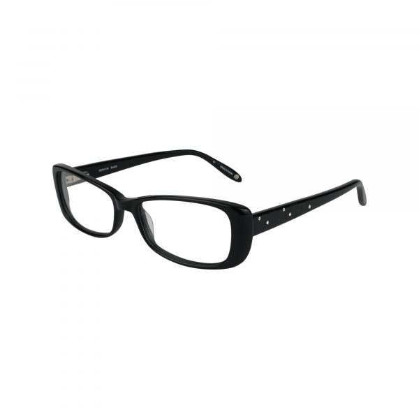 Archer Heights Black Glasses - Side View