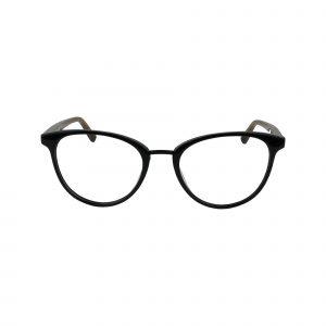 J776 Black Glasses - Front View
