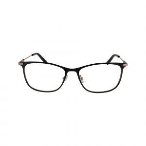 J489 Black Glasses - Front View