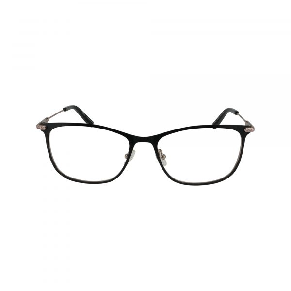 J489 Black Glasses - Front View