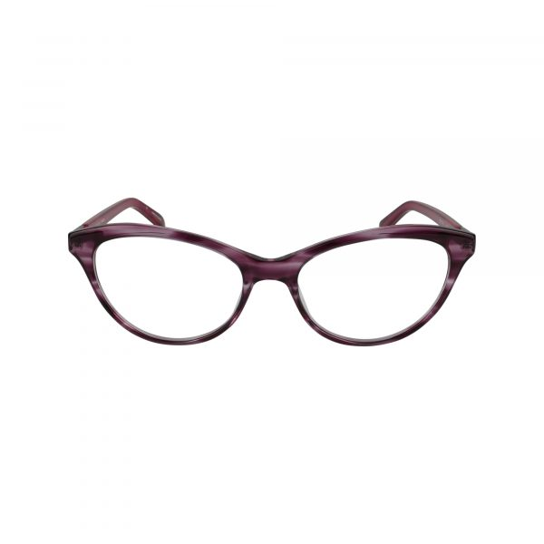 Tanya Red Glasses - Front View