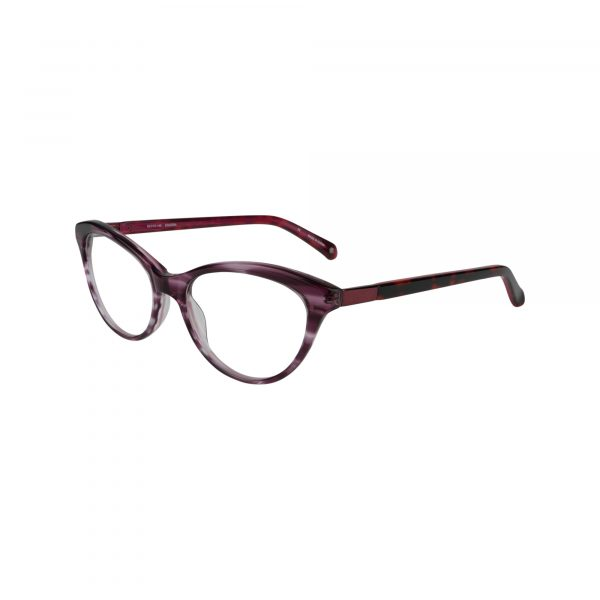 Tanya Red Glasses - Side View