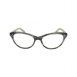 Tanya Blue Glasses - Front View