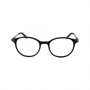 Lynott Black Glasses - Front View
