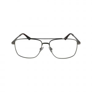 HEK 1205 Gunmetal Glasses - Front View