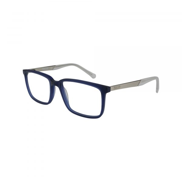 821 Matte Blue Glasses - Side View