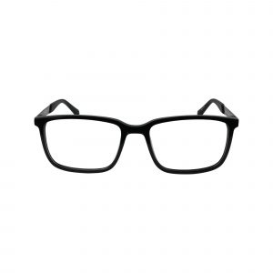 821 Black Glasses - Front View