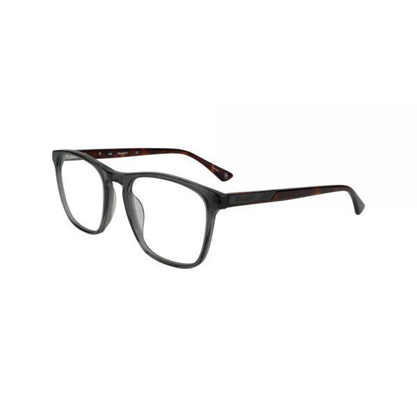 HEK 1215 Gunmetal Glasses - Side View