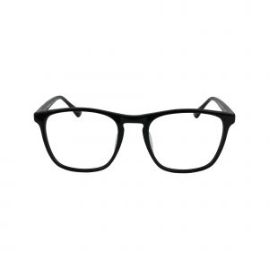 HEK 1215 Black Glasses - Front View