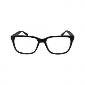 786 Black Glasses - Front View