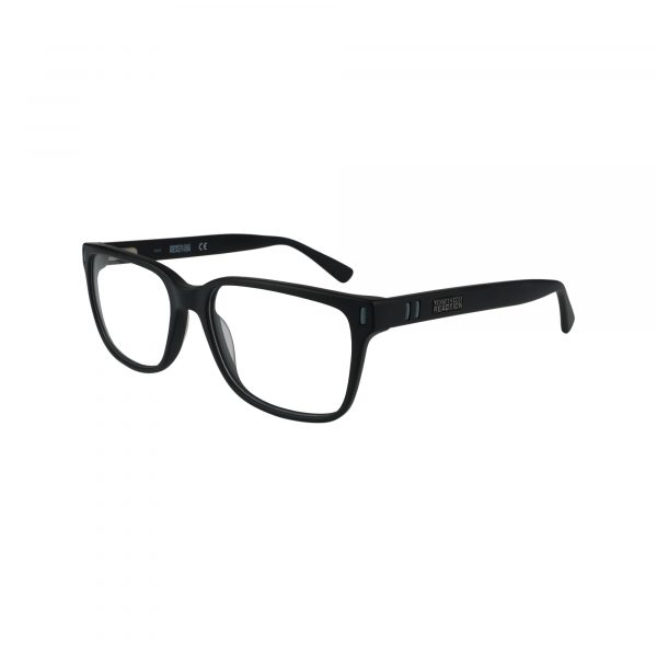 786 Black Glasses - Side View