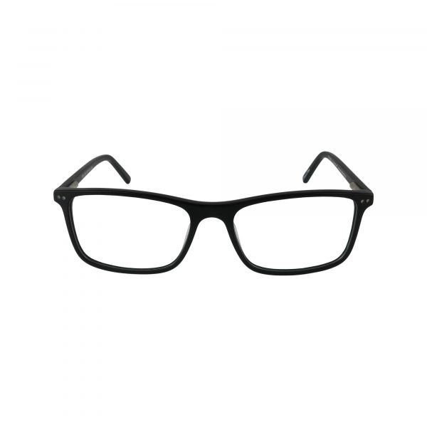 GR14 Black Glasses - Front View