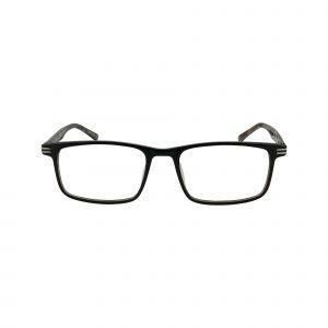 Levante Black Glasses - Front View