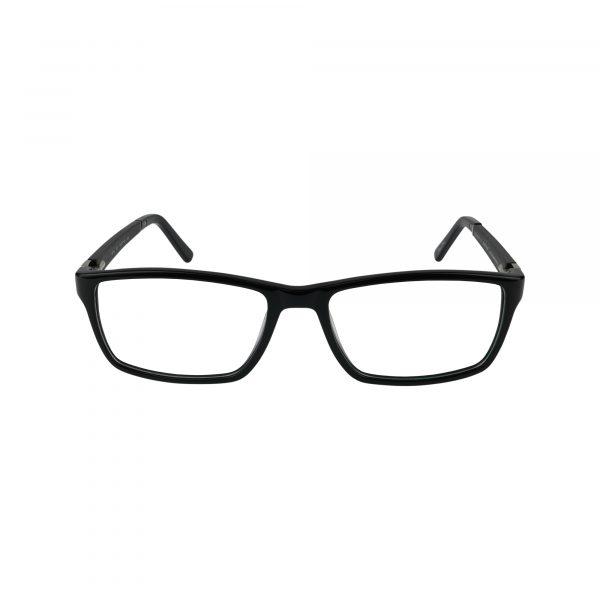 GR15 Black Glasses - Front View