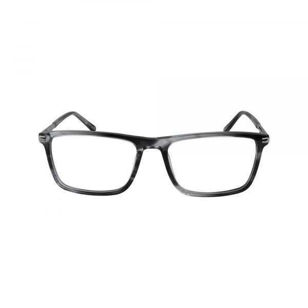 Hill City Gunmetal Glasses - Front View