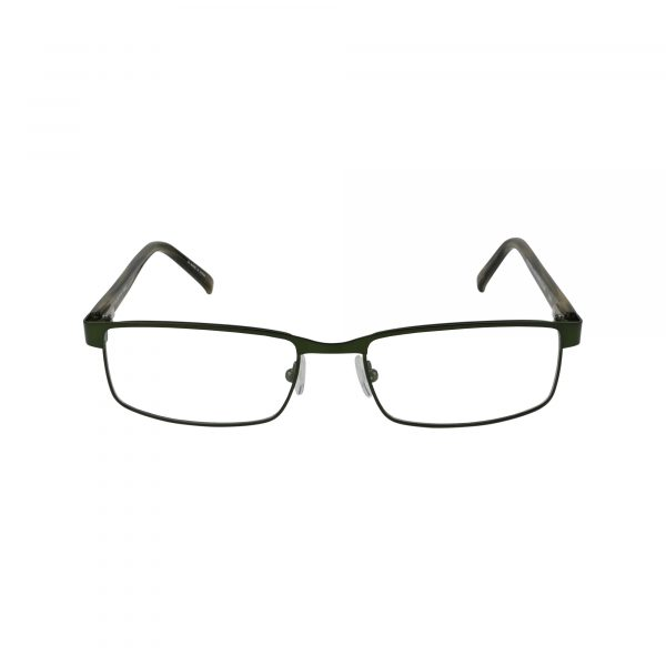 Cray Green Glasses - Front View
