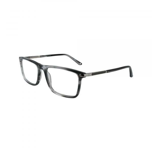 Hill City Gunmetal Glasses - Side View