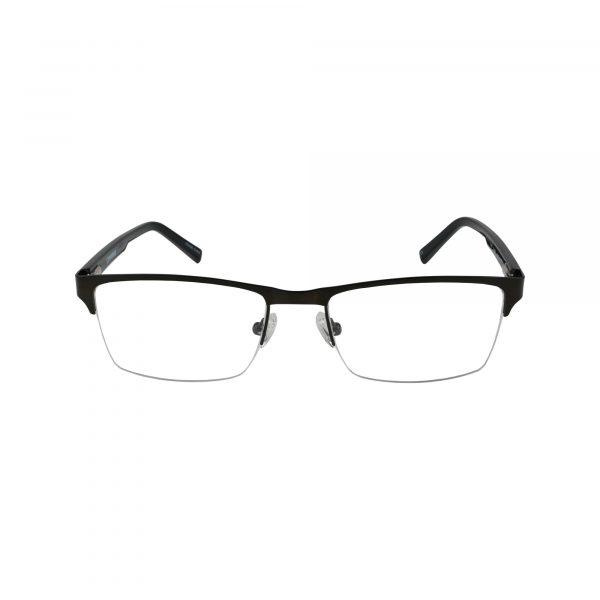 Q108 Black Glasses - Front View