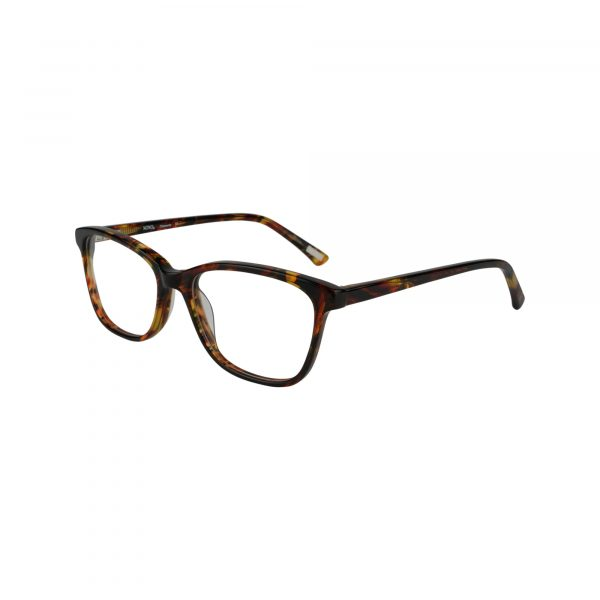 Clemente Red Glasses - Side View