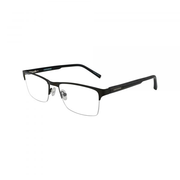 Q108 Black Glasses - Side View