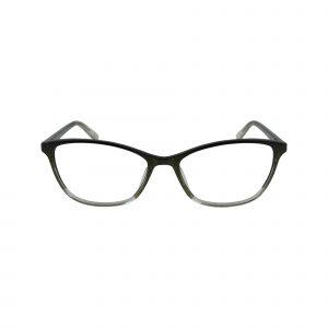 Sutton Black Glasses - Front View