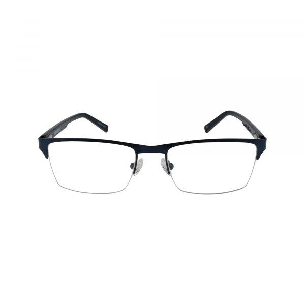 Q108 Blue Glasses - Front View