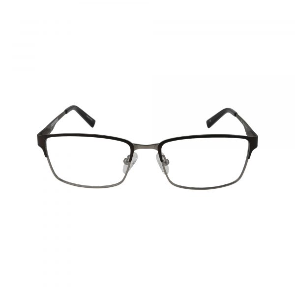 Q104 Brown Glasses - Front View