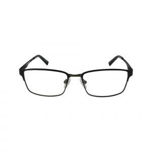 Q104 Black Glasses - Front View