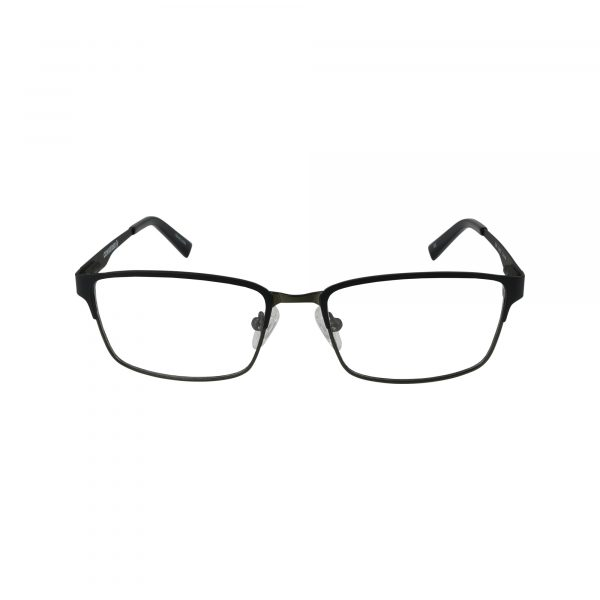Q104 Black Glasses - Front View