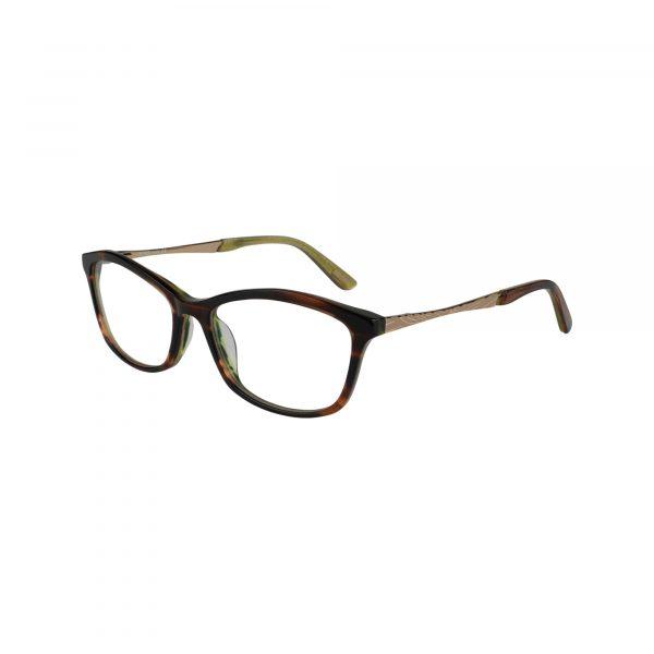 Avila Brown Glasses - Front View