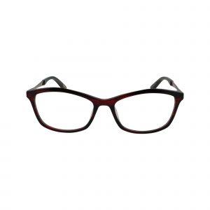 Avila Red Glasses - Front View