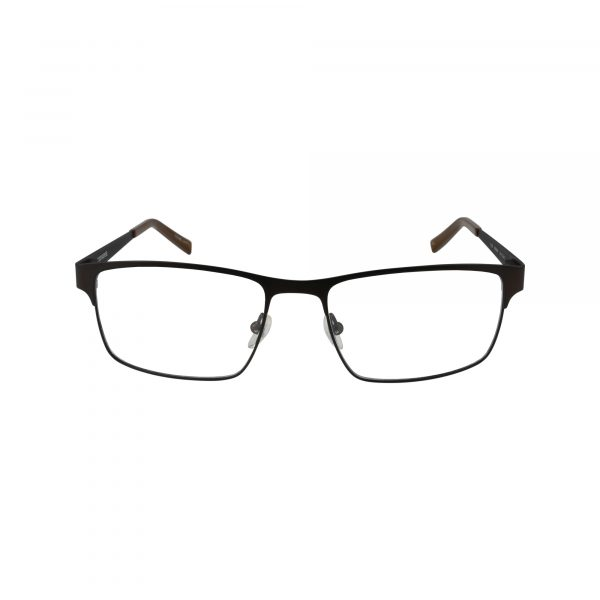Q105 Brown Glasses - Front View