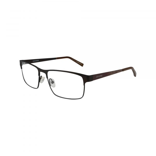 Q105 Brown Glasses - Side View
