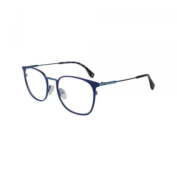 Q114 Blue Glasses - Side View