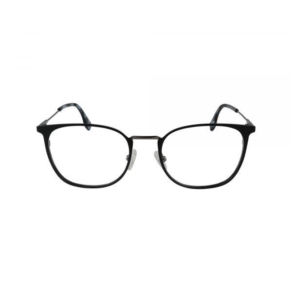 Q114 Black Glasses - Front View