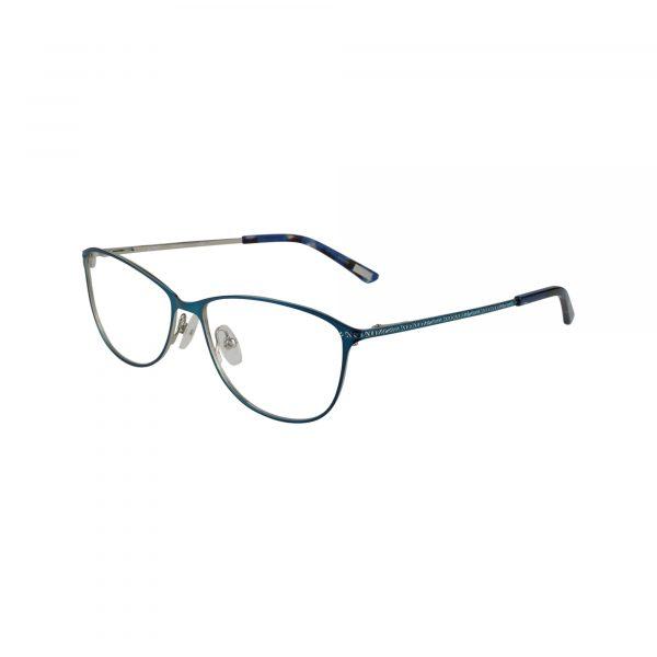 Sarasota Blue Glasses - Side View