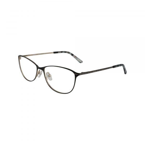 Sarasota Black Glasses - Side View