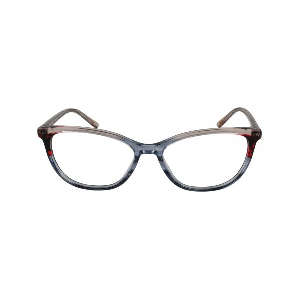 Biscayne Gunmetal Glasses - Front View