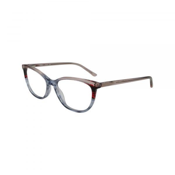 Biscayne Gunmetal Glasses - Side View