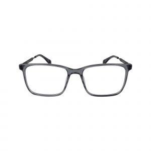 Q319 Gunmetal Glasses - Front View