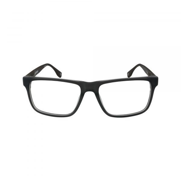 Q323 Gunmetal Glasses - Front View