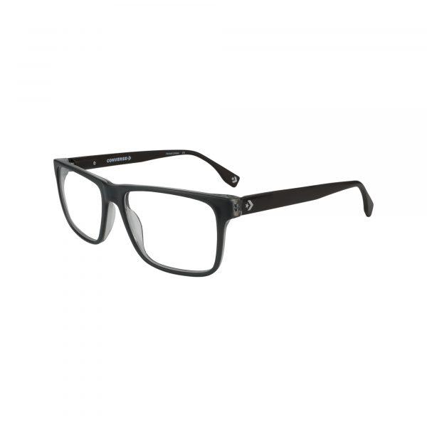 Q323 Gunmetal Glasses - Side View