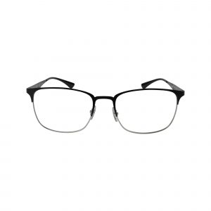 6421 Silver Glasses - Front View