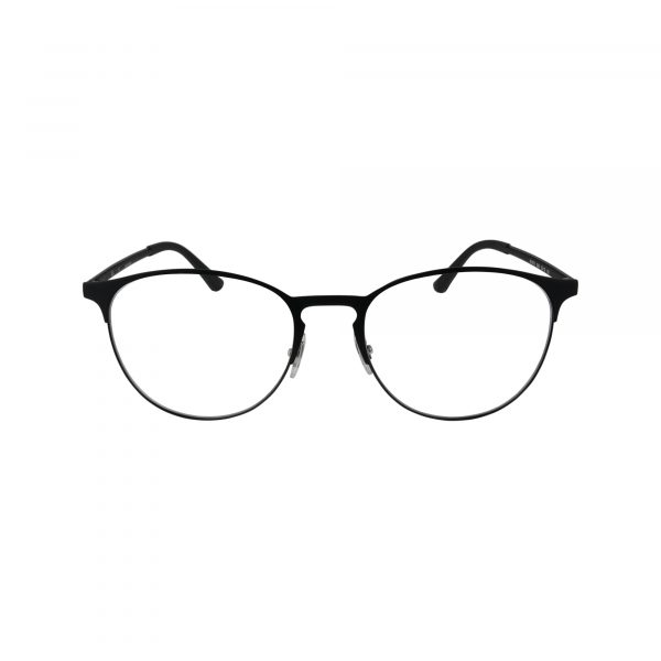 6375 Black Glasses - Front View