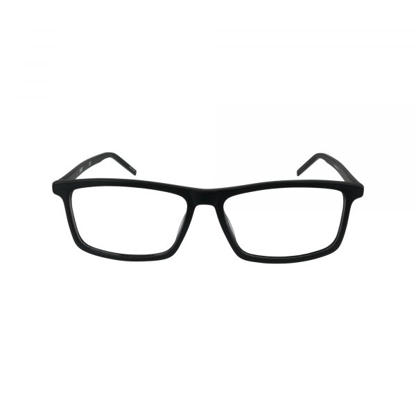 1025 Black Glasses - Front View