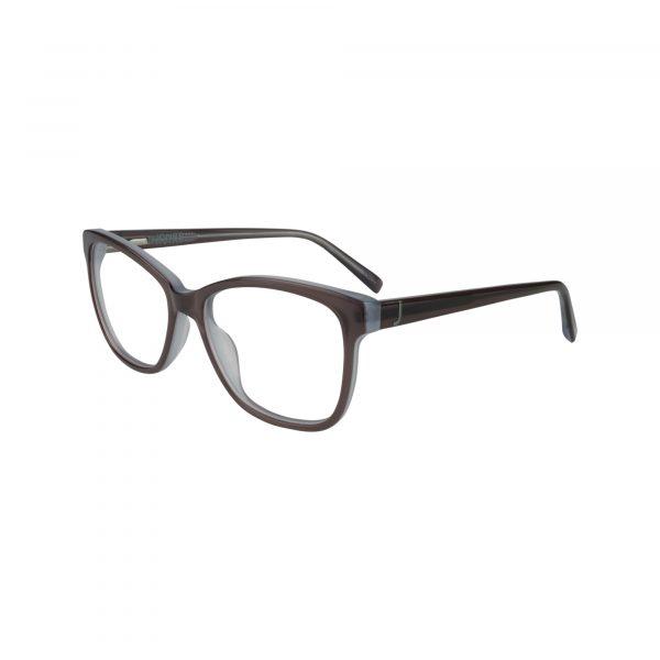 J764 Gunmetal Glasses - Side View