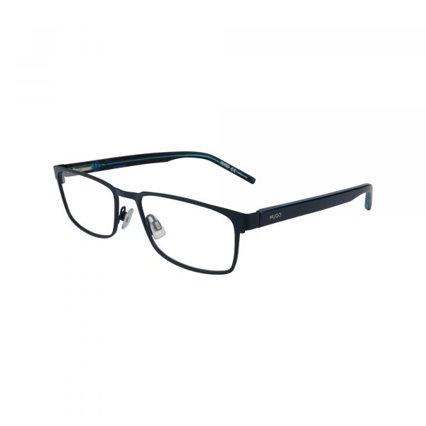 1075 Blue Glasses - Side View