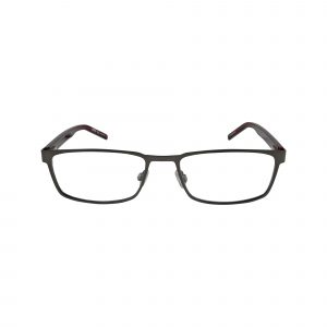 1075 Gunmetal Glasses - Front View